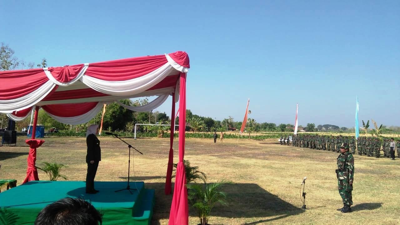 PEMBUKAAN KARYA BHAKTI TNI TAHUN 2019<BR>DESA TURI KECAMATAN TAMBAKREJO