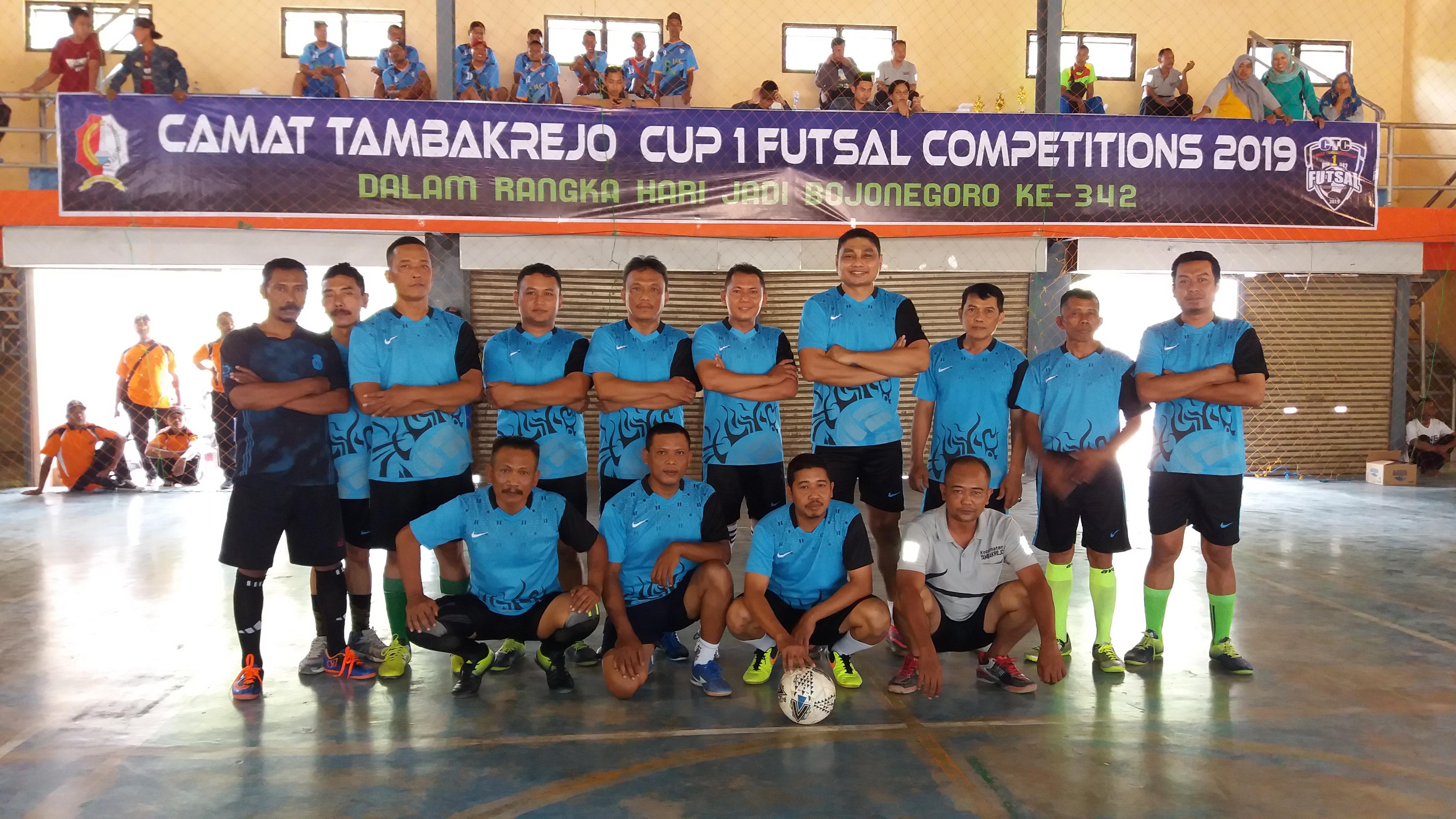 CAMAT TAMBAKREJO CUP I FUTSAL COMPETITIONS 2019<BR>KECAMATAN TAMBAKREJO
