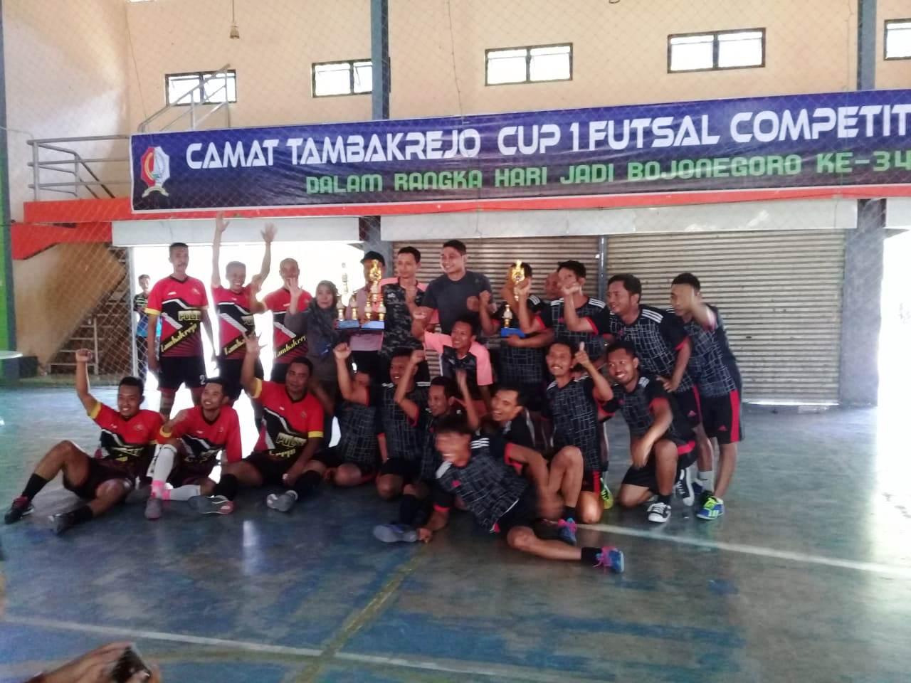 CAMAT TAMBAKREJO CUP I FUTSAL COMPETITIONS 2019<BR>KECAMATAN TAMBAKREJO TAHUN 2019
